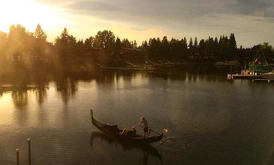 Lake Tahoe's Only Venetian Gondola Company