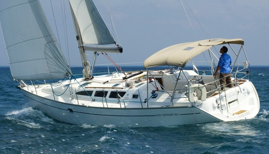 Jeanneau 40.3 Sailing Monohull Charter In Cyprus