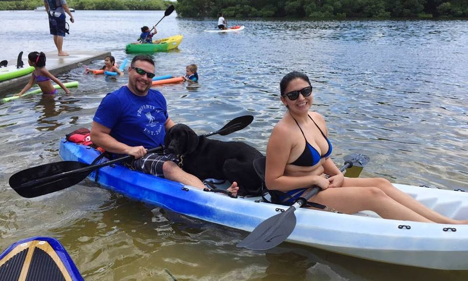 Rent this amazing Double Kayak in Tampa, Florida