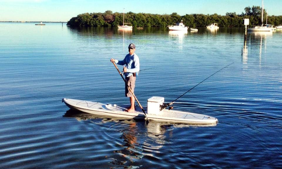 Specialty Fishing Paddleboard Rental in Tampa