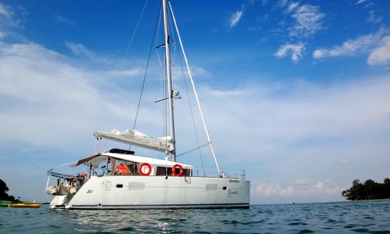 Sailing Charter 40' L400 S2 Cruising  Catamaran In Serapong, Singapore