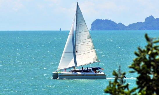 Segelyacht In Samui Thailand