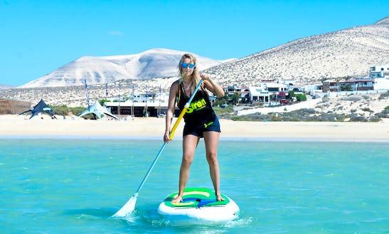 Paddleboard Rental In Costa Calma, Spain