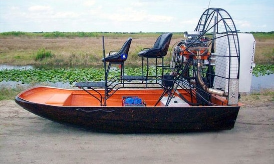 16ft Airgator Airboat In Port Lavaca, Texas