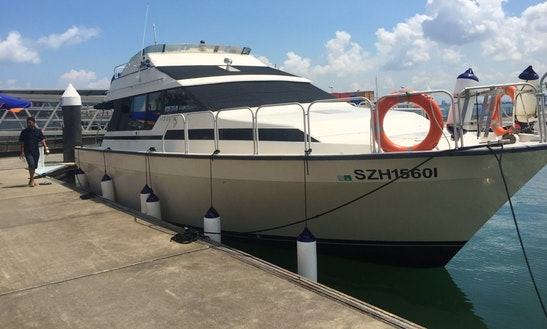 Mainship 35  Rental In Singapore