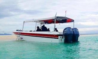 Speed boat Tour in Semporna