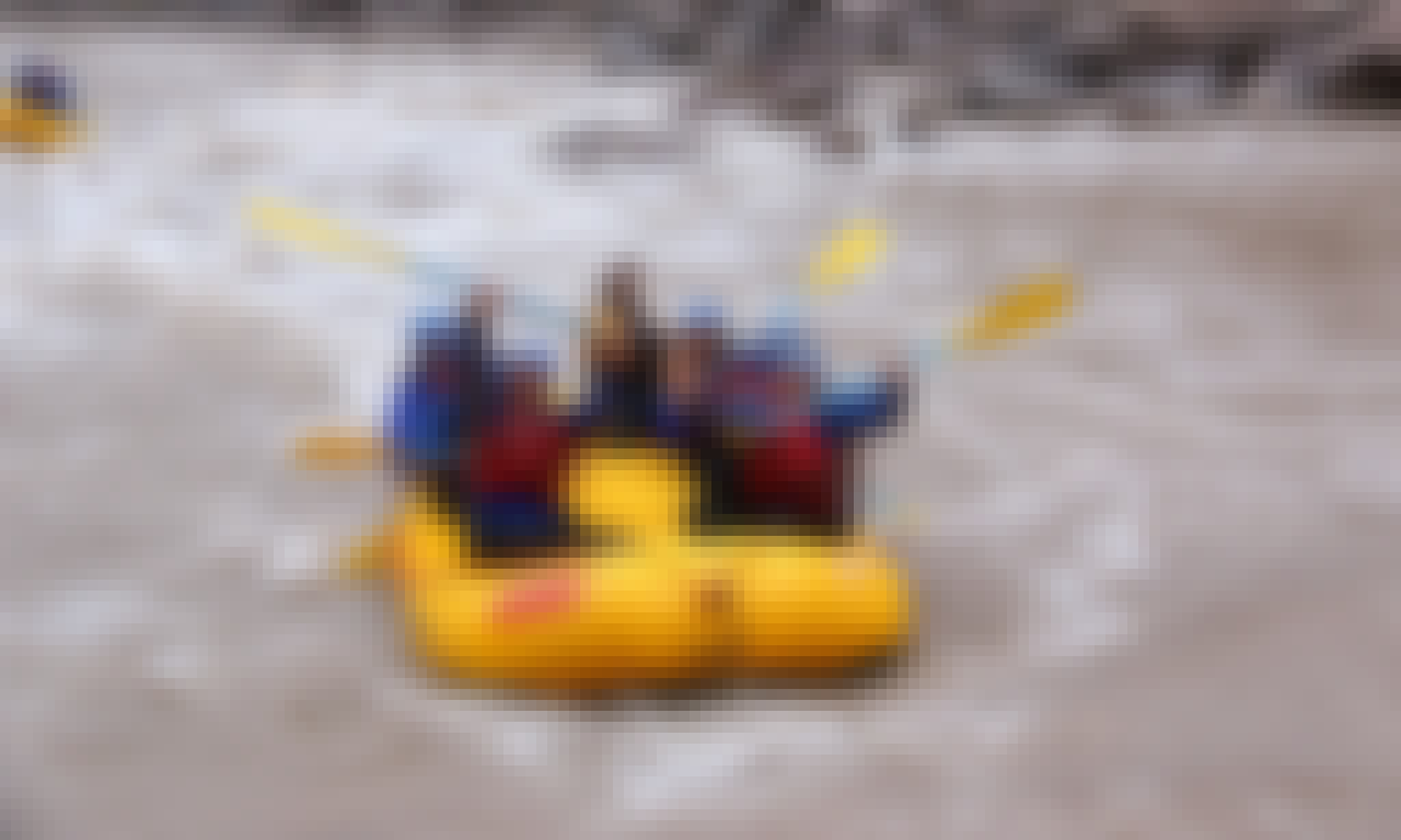 White Water Rafting Trips in Mendoza