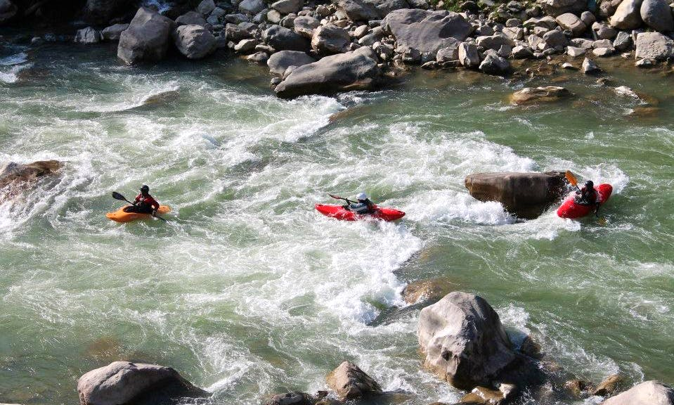 White Water Kayaking Lessons & Rental in Rishikesh