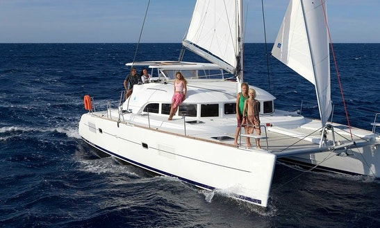 Fun Family Catamaran Charter On A Lagoon 380 From Phuket, Thailand