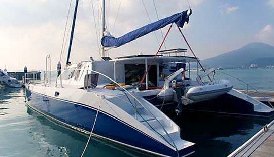 Captained Charter On 49' Catamaran From Phuket, Thailand