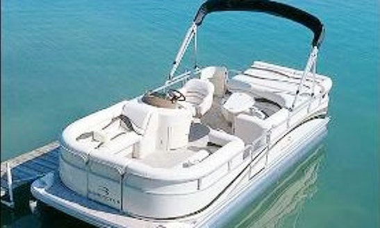 Amazing 2050 Lx Bennington Pontoon For 6 Person Available To Rent In Michigan