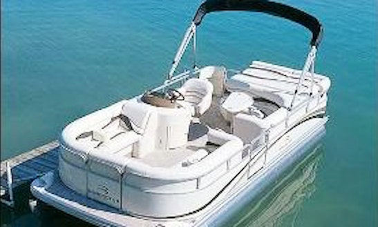 Pontoon Rental In Leland Township, Michigan