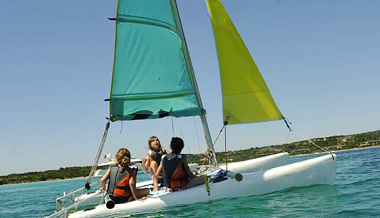 Daysailing Lessons For All Ages And Hobie Cat Rental In Bonifacio, France