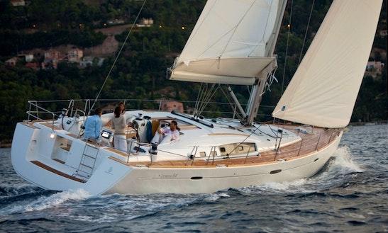 'altais' Oceanis 54 Monohull Charter & Trips In Carloforte
