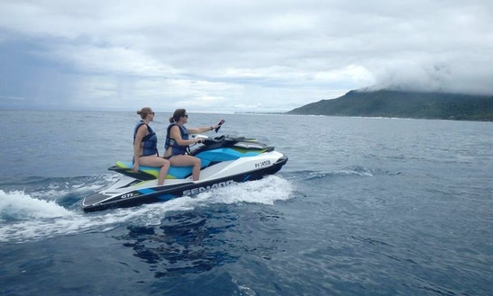 Seadoo Gti 130 Jet Ski Rental & Tours In Maharepa
