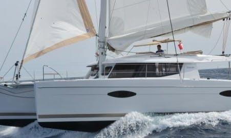 Crewed Charter on 48' Catamaran From Phuket, Thailand