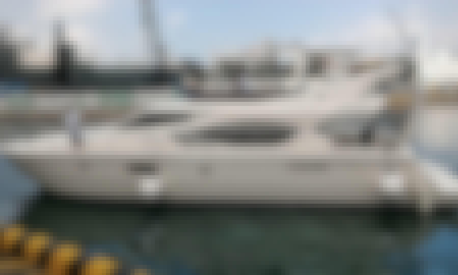 Ferretti Yacht in Hongkong