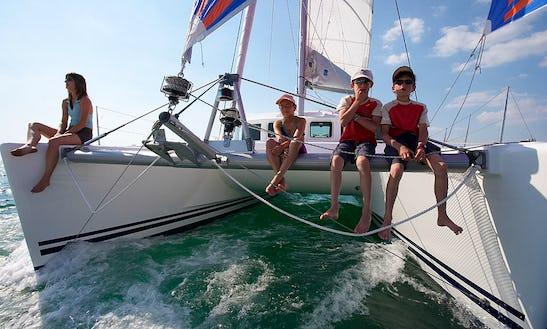 39' Cruising Catamaran Charters In Azores, Portugal