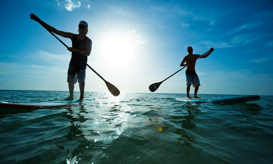 Stand Up Paddleboard Lesson In Artà