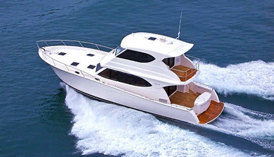 Captained Charters On A Maritimo 48 From Phuket, Thailand