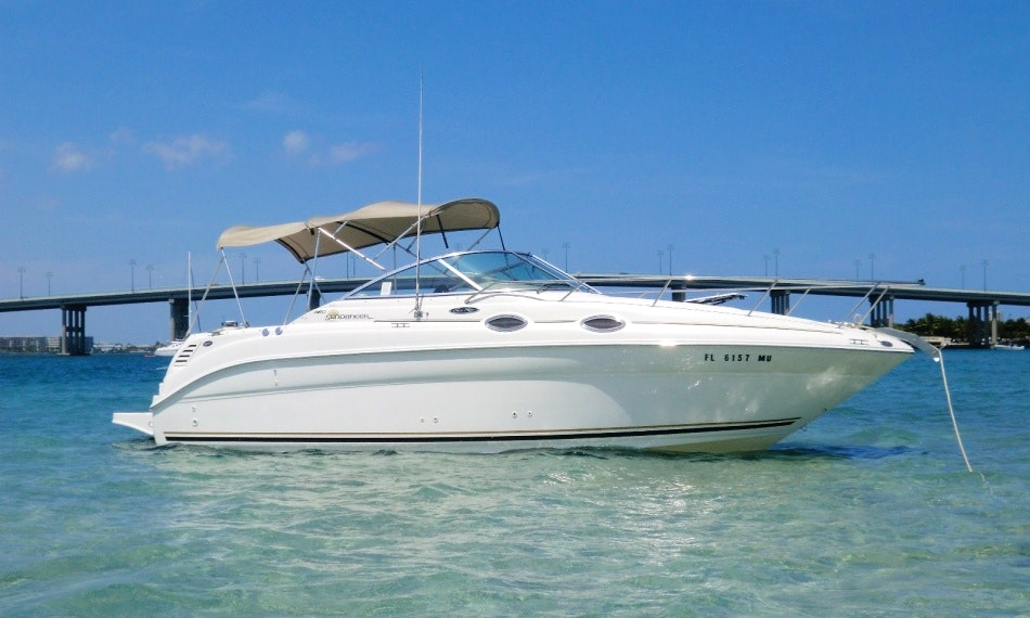 Motor Yacht Rental in Dubrovnik, Sea Ray Sundancer 260 | GetMyBoat