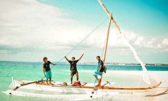 Beach Catamaran Trips In Zanzibar, Tanzania