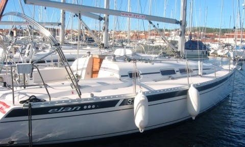 "Charter a 32ft ""Metvica"" Elan Cruising Monohull in Vodice, Croatia"