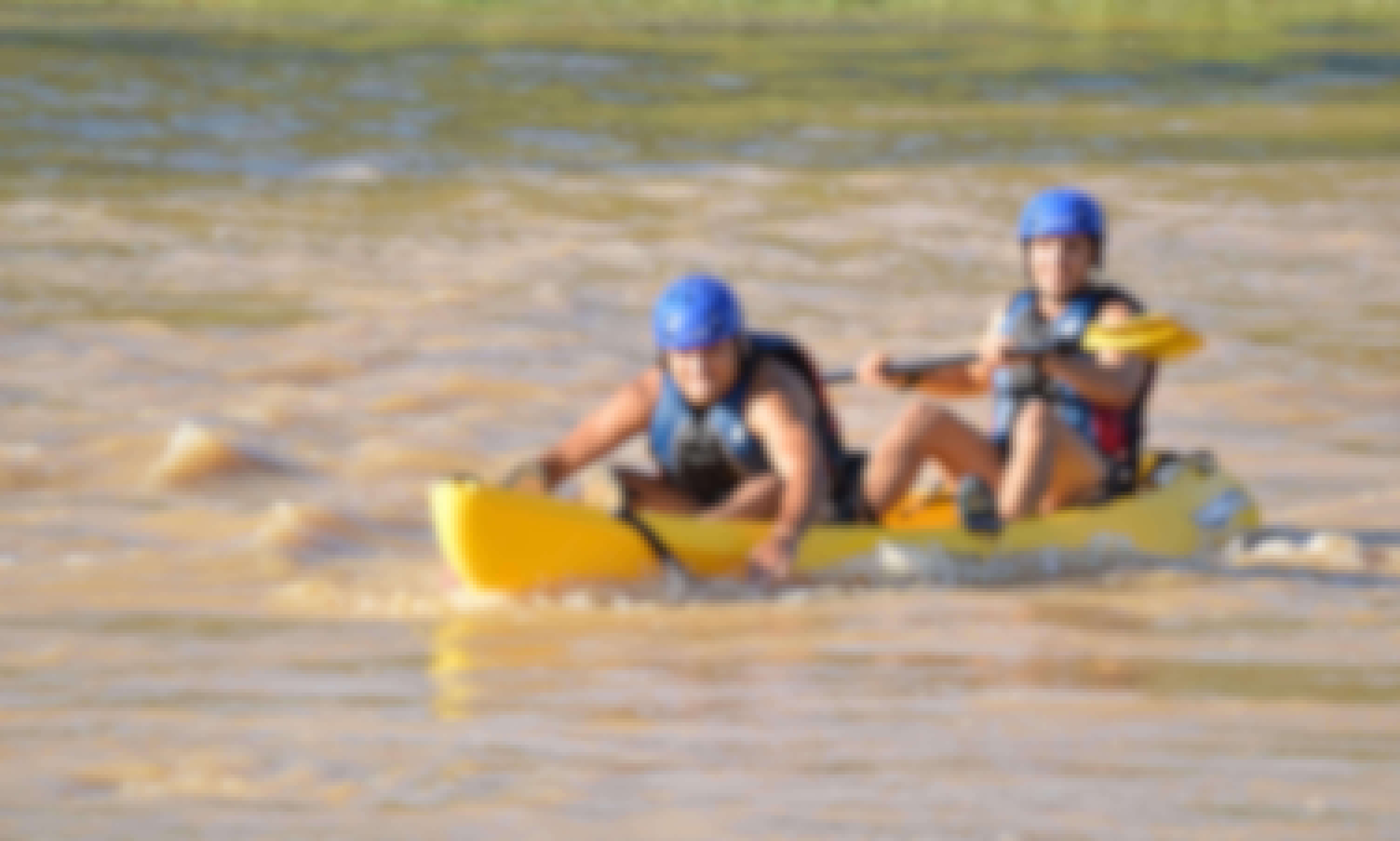 Kayaking Descending Trips & Lessons in Fraga