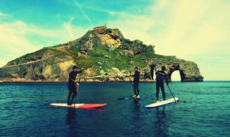 Stand Up Paddleboard Rental & Classes in Bakio