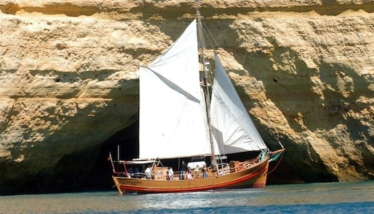 Come Aboad The Leaozinho Pirate Ship In Portugal