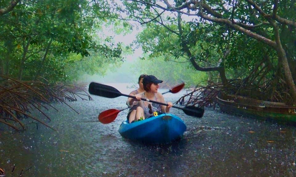Double Kayak Rental On Morell River