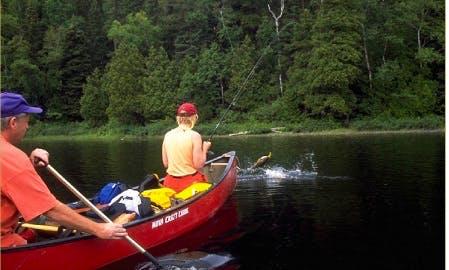 16' Canoe Rental & Trips in Algonquin Highlands, Canada
