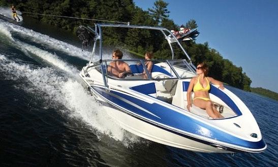 Rent Larson Senza Wakeboard Boat In Penticton Bc
