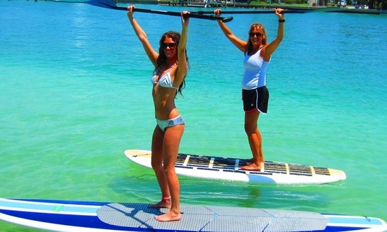 Stand Up Paddleboard Rental In Treasure Island, Florida