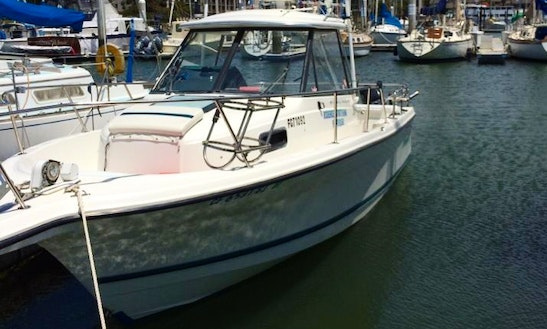 25ft 'rodbender' Ocean Fishing Charter In Garden Valley