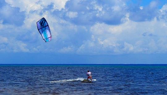 Kiteboard Charter In Cozumel, Mexico