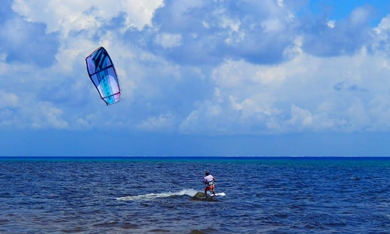 Kiteboard Charter In Cozumel, Mexico