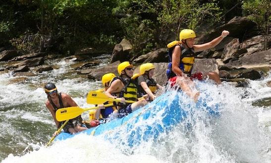 White Water Rafting In Benton