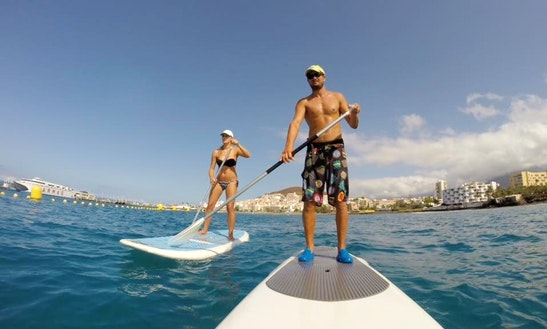Sup Sunset Tour In Arona