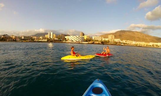 Kayak Adventure Trips In Costa Adeje