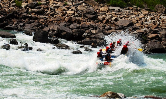 Full Day Rafting Trip In Rishikesh
