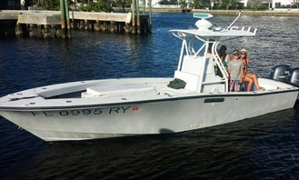 Deep Sea Sport Fishing On 27' Center Console  with Captain Tom Hinterschied