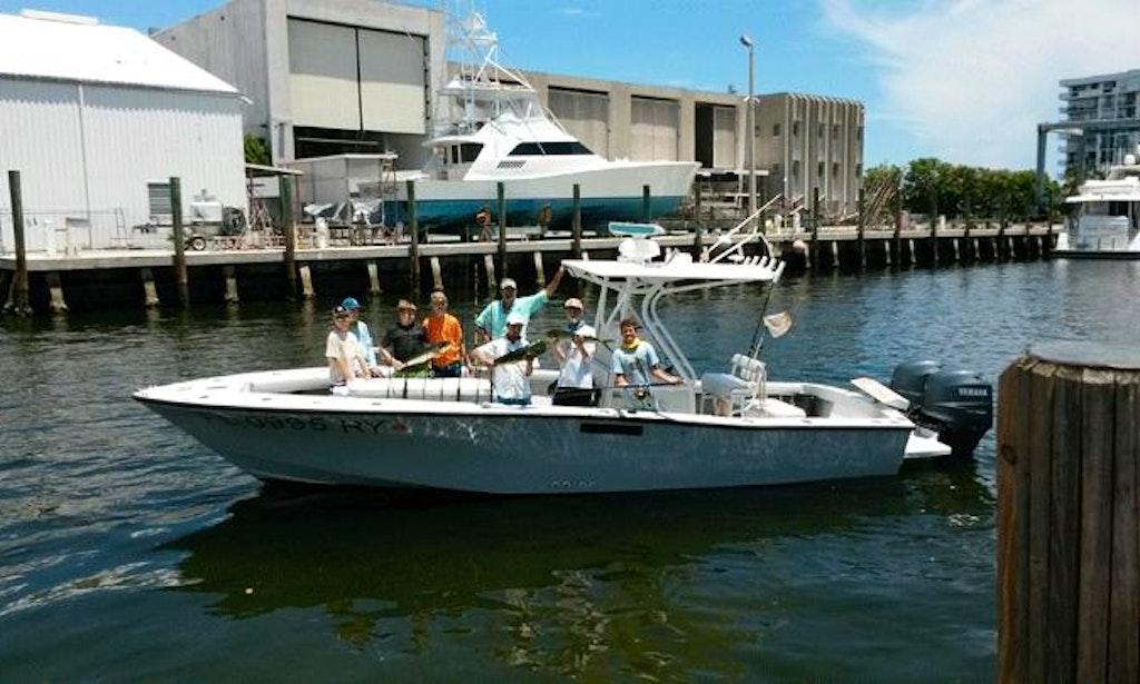 Deep Sea Sport Fishing On 27 39 Center Console In Jupiter