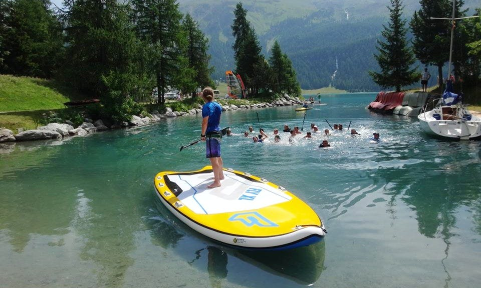 Stand Up Paddleboard Rental In Silvaplana