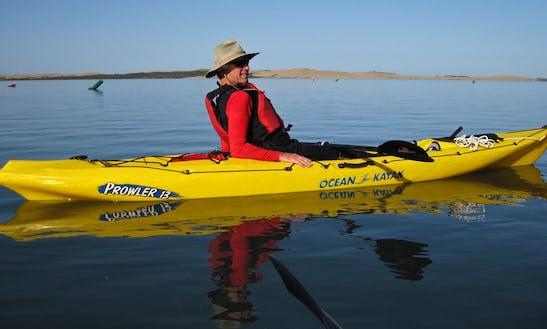 Single Person Kayak Rental In Bodega Bay