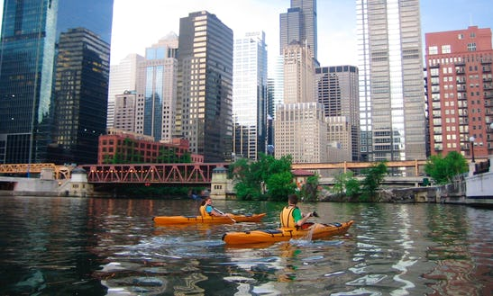 Single Kayak Rental In Chicago
