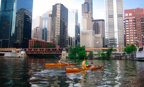 Single Kayak Rental In Chicago