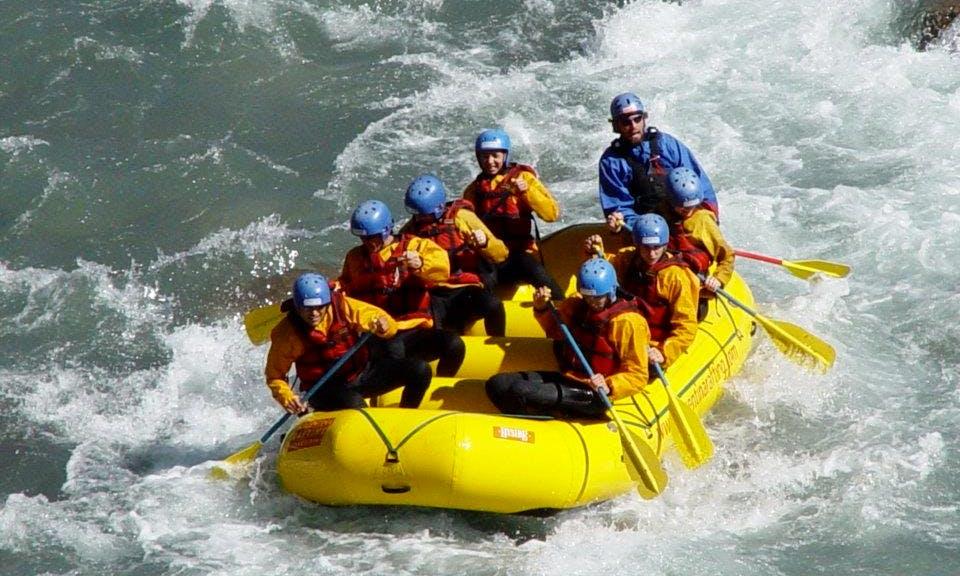 White Water River Rafting In Potrerillos