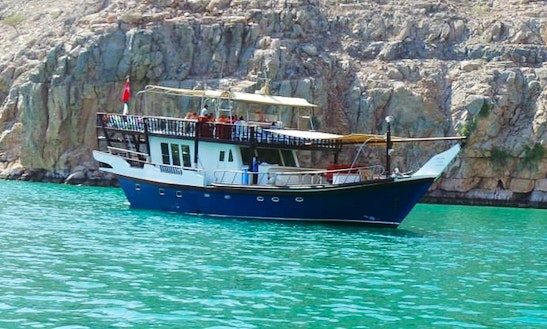 Blue Dhow In Dibba Oman