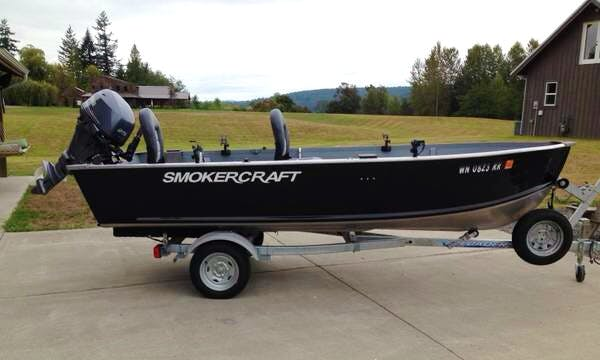 SmokerCraft for Sport Fisherman Rental in Bothell